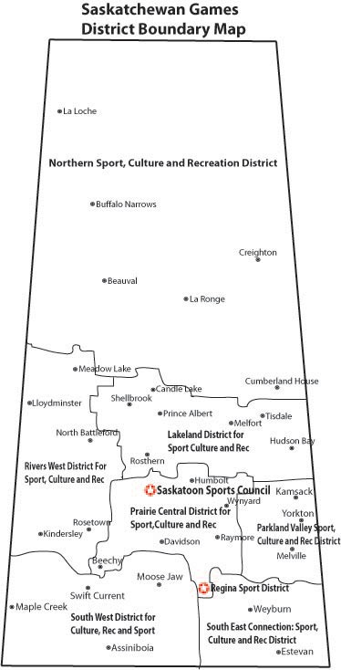 District Teams Saskatchewan Games Council